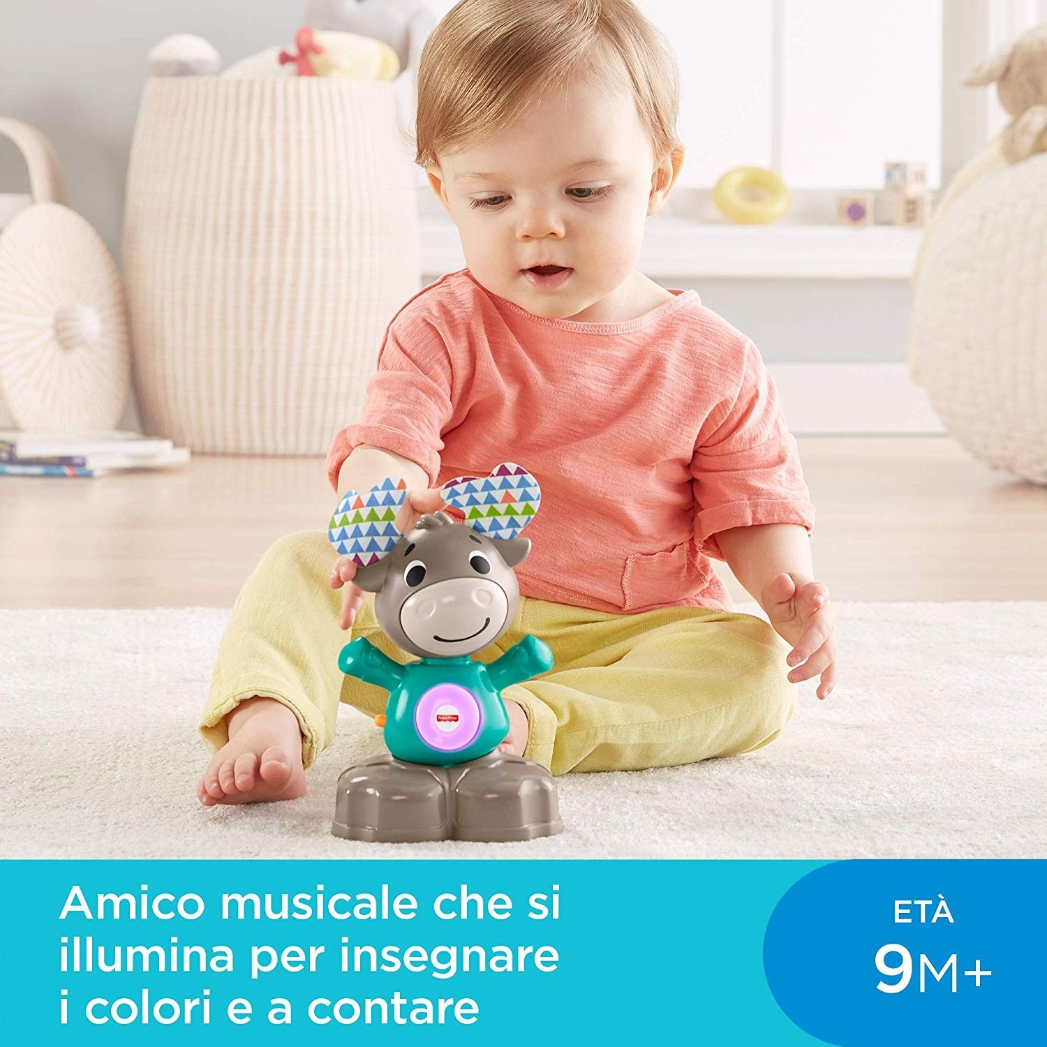 Parlamici Baby Renna Dondolina Fisher-Price