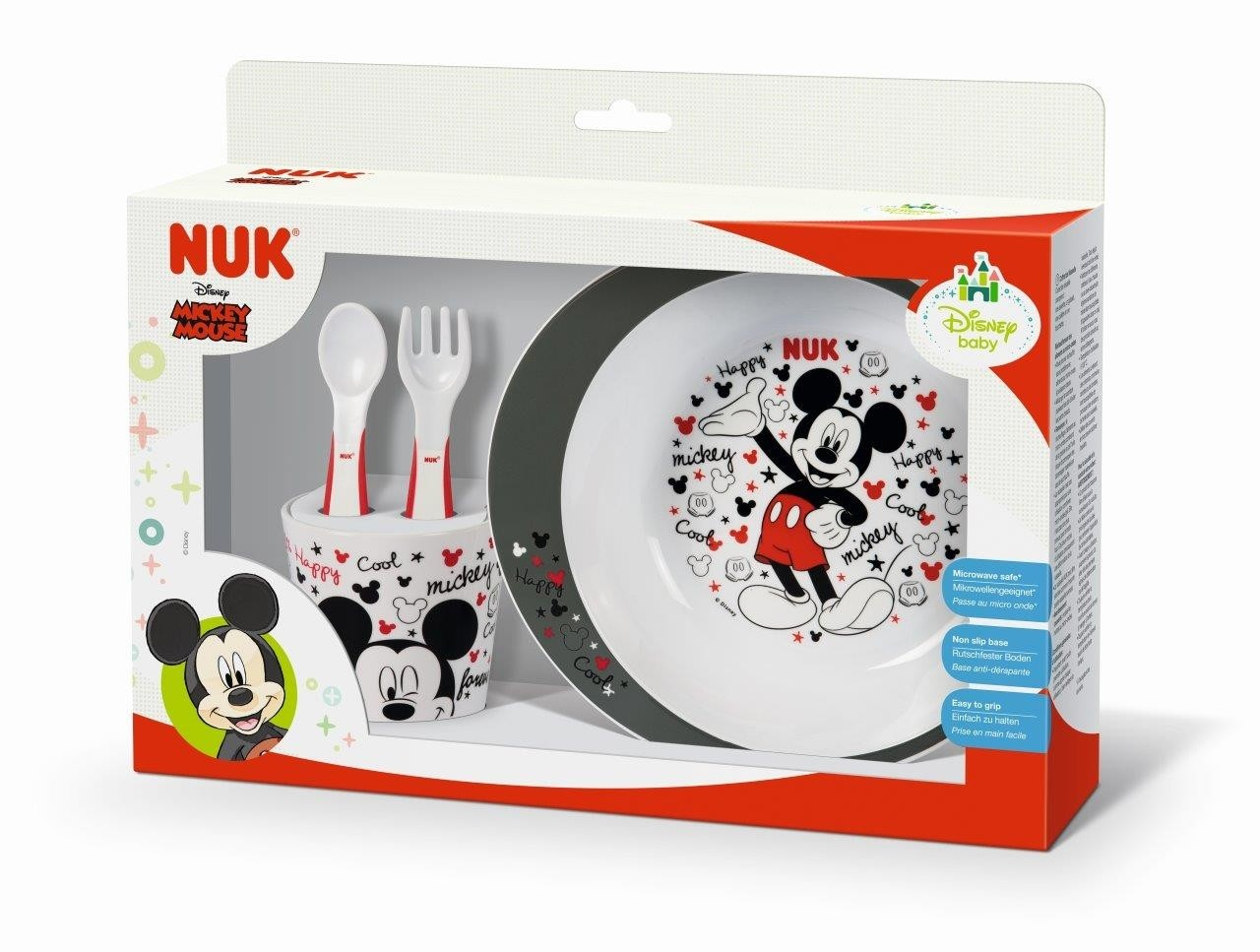 NUK Set Pappa Disney Mickey Mouse