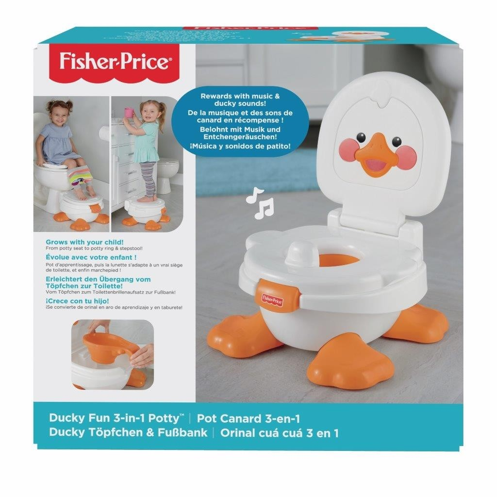 Fisher-Price Vasino dell'ochetta 3 In 1