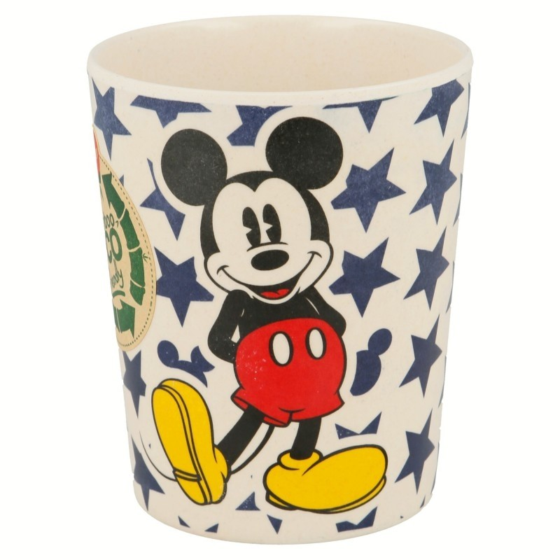 Bicchiere in bambù Mickey Mouse Disney
