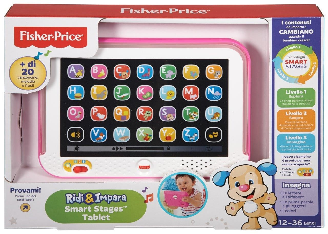 Fisher-Price Tablet Smart Stages Rosa