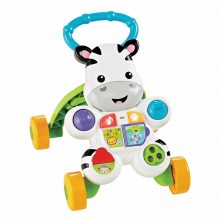 Fisher-Price  Zebra Primi Passi Spingibile Giocattolo Elettronico Educativo