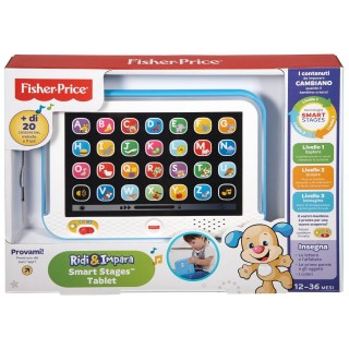 Fisher-Price Tablet Smart Stages Azzurro