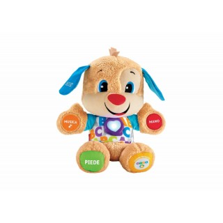 Fisher-Price Peluche Educativo il Cagnolino Smart Stages Ridi e Impara