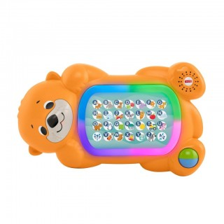 Fisher-Price- Parlamici Baby Lontra ABC Giocattolo Educativo 9 + Mesi
