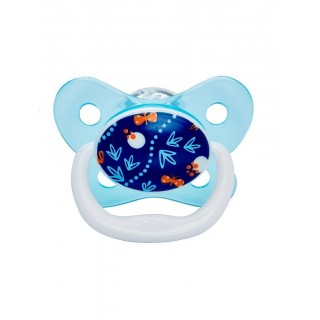 Dr Brown's Prevent Succhietto Butterfly 6-12 mesi Blu