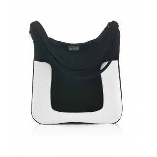 Brevi Borsa Millestrade - Black & White