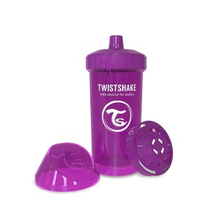 Twistshake Borraccia con Shaker per Frutta 360 ml Viola