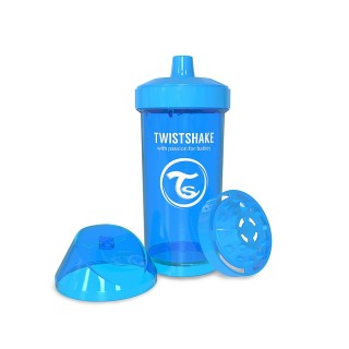 Twistshake Borraccia con Shaker per Frutta 360 ml Blu