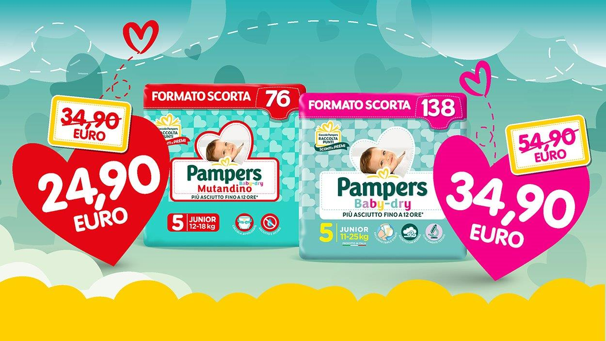 Follie Pampers Baby Dry